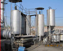 Most professional pollution free tyre oil extraction and tire pyrolysis oil machinery with CE ISO