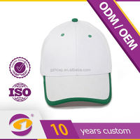 2015 new design custom High Quality Blank White Hats from china supplier