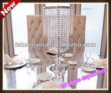 Tall wedding crystal table centerpiece&flower stands for wedding table centerpiece,wholesale flower stands wedding