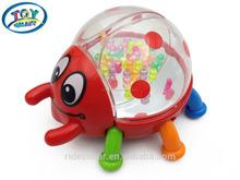 2015 nuevo salto estertores precioso mariquita bebé juguetes educativos el desarrollo de los niños juguete