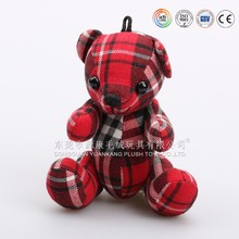 Hanging cute mini teddy bear bedding christmas ornaments