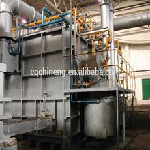 25T natural gas fixed type regenerative aluminium melting furnace