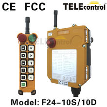 Universal radio remote control for crane310MHz~446MHz wireless remote control rc transmitter receiver/industrial controlsF24-10D