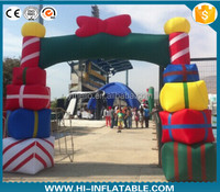 Advertising inflatable christmas arches,christmas inflatable arch,inflatable christmas decorations arch
