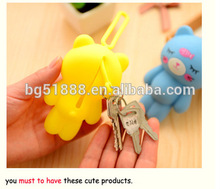 Wholesale silicone smart key bag/key case/key cover