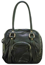 2015 Italian Design Luxury Real Ostrich Genuine Leather Handbags