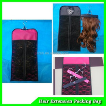 new style hot selling OEM ODM popular fashionable wholesale customised pvc hair extension bag with factory price and top quality