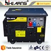 5KVA AC three phase output type single cylinder diesel generator
