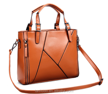 2015 OEM genuine leather ladies hand bags for women/ladies, leather shoulder hand bags,fashion shoulder hand bags
