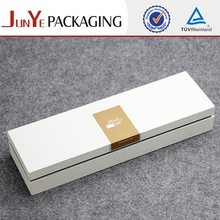 Elegant lid and base custom packaging hair extension box