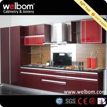 De Color Rojo Modelos de Cocinas