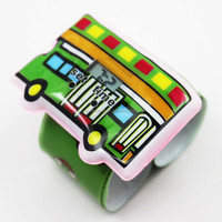 Popular Selling Cartoon Car Slap Watches for Promotion