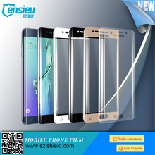Hotselling full coverage tempered glass screen protector film for S6 edge/ plus