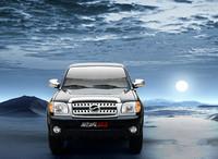 LHD pickup hydraulic brake mini petrol car with A/C