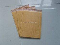 Gold kraft bubble padded envelope for mailing
