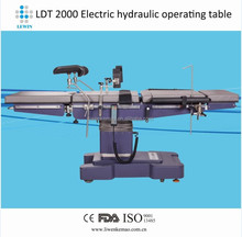 Lewin brand factory price LDT2000 c arm compatible operating table