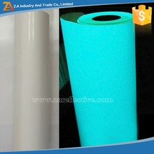 Luminescent Spandex Fabric, Polyester Fabric Backing, Sew-on Glowing Green Fabric PLPF-509-4000