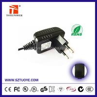 Wall mount EU EU US AU plug Switching Power Supply 3V 0.5A