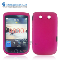 2014 new style China Suppliers cell phone accessories PC rubberized combo case for BlackBerry Torch 9800