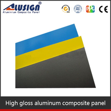 Alusign China ACP panels nomex honeycomb core panel prices for exterior building materials aluminium composite panel