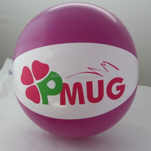 customized inflatable beach ball with logo printed for promotion giveaways