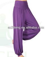 2013 fashion rayon loose baggy pencil pants for women