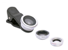 0.67X Wide Angle 3 in 1 universal Clip Lens for moblie phone ,Super Macro camera lens
