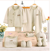 new born baby toddler clothing/organic cotton clothes gift set