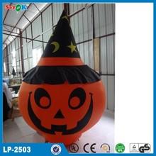 2015 halloween decoration halloween inflatable pumpkin
