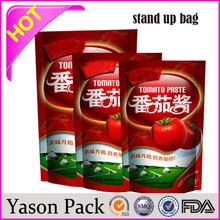 Yasonpack food pouch transparent plastic pill pouch drink pouches manufacturers