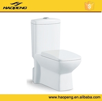 A-2327 Ceramic Dual-flush Washdown Chinese Cheap One Piece Toilet Prices