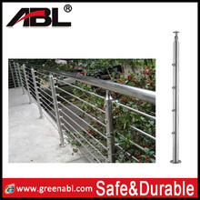 304 Anti rust stainless steel handrail railing building construction material