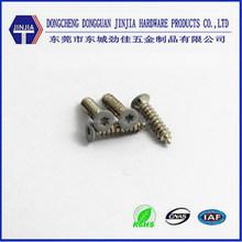 M2.6x12 decorative torx flat head screw with Rohs nickel plating