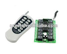 6 Channle 24V Home Appliance Wireless Remote Control Switch YET412pc