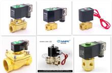 Automatic water valve flow control of 2V025-08,Normally opened 2 Way,air,oil,water,thread size:G1/4,NPT ,PT,Five Port