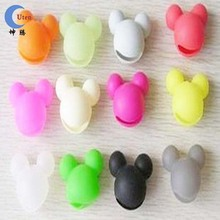 colorful mickey mouse silicone case for MP3