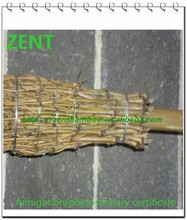 ZENT -16 Natural bamboo broom for cleaning