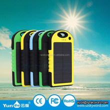 Portable solar cell phone charger with LED flashlight,Portable solar for Mobile Phones/mp3/mp4/ipad/for Iphone/digital Camera