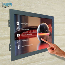 23 inch capacitive touch screen LCD monitor 1920*1080 hd open frame /kiosk/wall