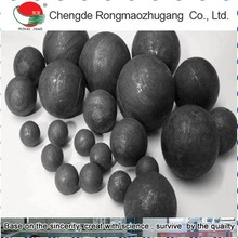 DIA 25mm Cast grinding ball And Forged Grinding Balls mill grinding