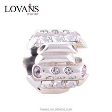 Charm Fasteners For Charm Bracelets Bijoux Argent 925 Wholesale Bijoux Jewelry YZ039