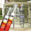 revolving door durable acetoxy glass silicone sealant