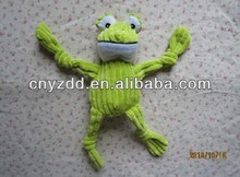 plush pet toys for dogs/plush frog dog pet toy/plush stuffed pet toy dog