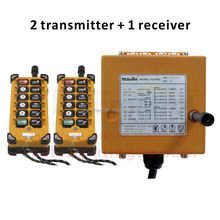 Wireless Remote Control F23-A++ Factory Price Industrial Radio Remote Control System 12v ac/dc motor crane