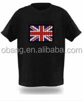 2014 American flag t shirtWorld cup el t shirt, music led t-shirt