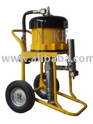 Nk wj 65 air driven type airless paint sprayer adopting for Air or airless paint sprayer