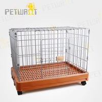 Various types stainless steel cages dog kennels runs