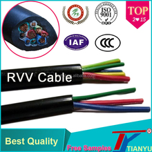 Best Selling Product High Quality RVV Flexible PVC Insulated Free Samples Electrical Wire
