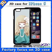 2016 gift under 1 dollar cute girl design 3D metal bumper phone case for lenovo k3 note