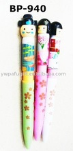 cartoon promotional ball pen